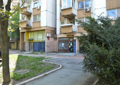 Slika prilazu i okoline lokala Beovaškica